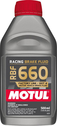 Motul RBF660 Racing DOT4 Brake Fluid