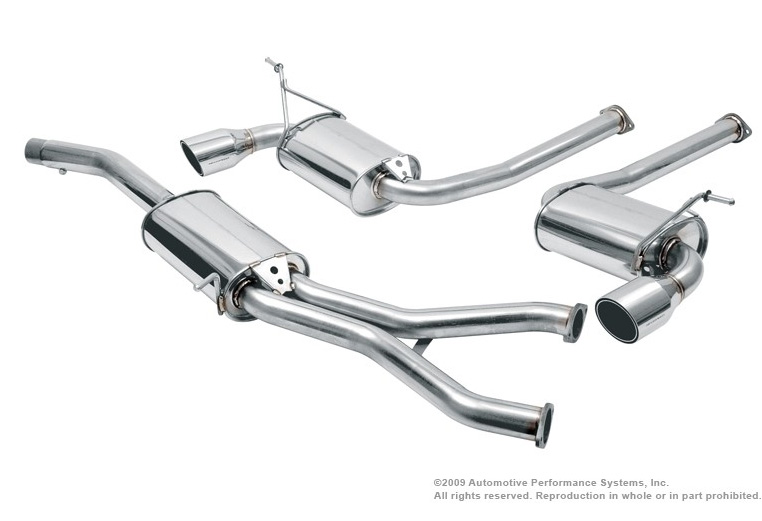 Neuspeed Cat-back Exhaust for VW @ ModBargains.com