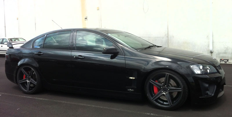Niche Wheels Apex MS126 Holden Commodore