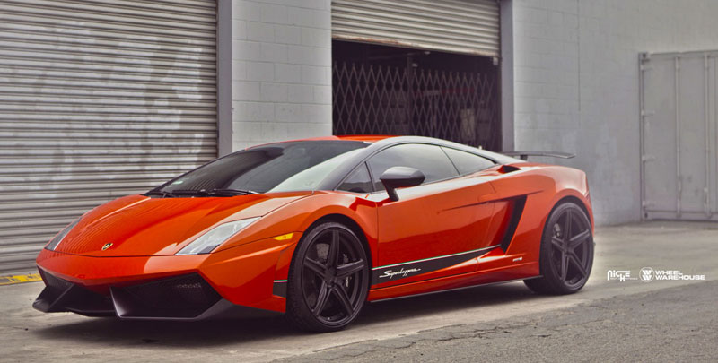Niche Wheels Apex T17 Lamborghini Gallardo Superleggera LP570
