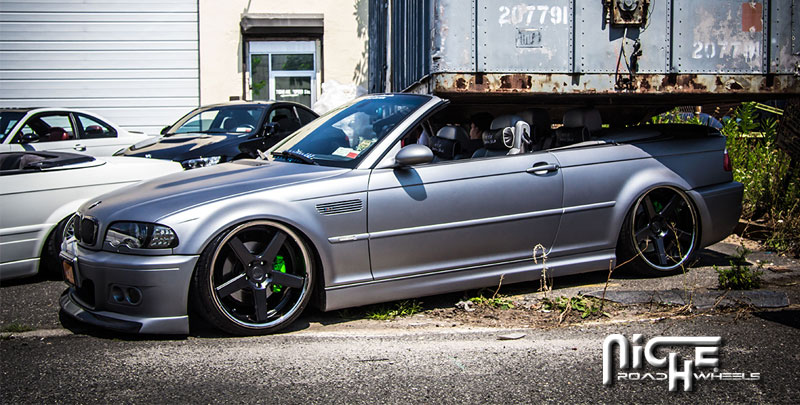 Niche Wheels Nurburg M880 BMW M3 Convertible