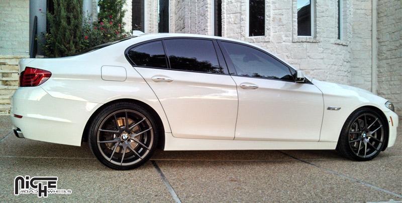 Niche Wheels Targa M129 BMW 550i