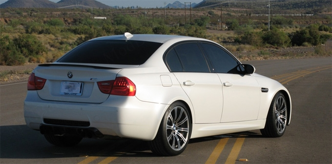 Bmw Performance Trunk Spoiler For 2006 11 Bmw 3 Series