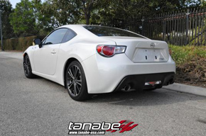 Scion FR-S Tanabe Sustec GF210 Spring back
