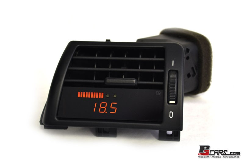 P3 Cars Vent Integrated Digital Gauge BMW E46