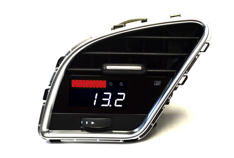 P3 Cars Vent Integrated Digital Gauge For 2009 15 Audi A4