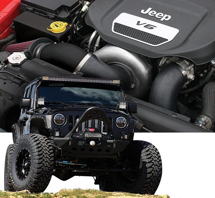 Jeep wrangler 3.6 modbargains modauto 1JK214-SCI  1JK204-SCI procharger supercharger sc