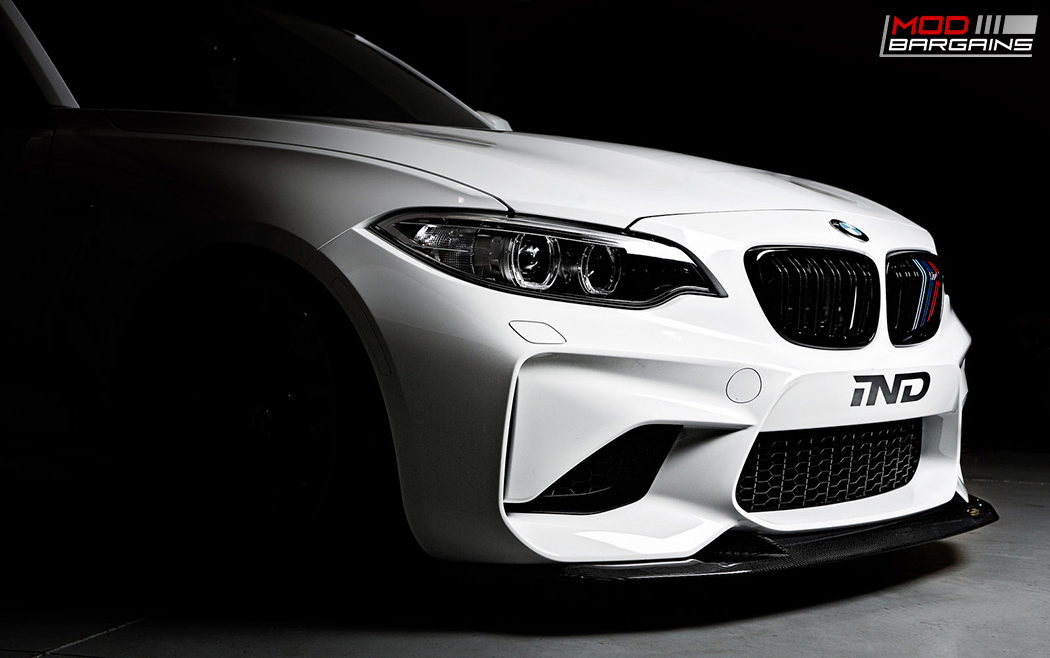 RKP Carbon Fiber Front Lip Installed on 2016 BMW M2 F87