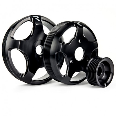 Raceseng Revo Stage 1 Pulley Kit Black for Scion FRS/BRZ