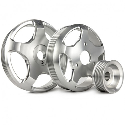 Raceseng Revo Stage 1 Pulley Kit Silver for Scion FRS/BRZ