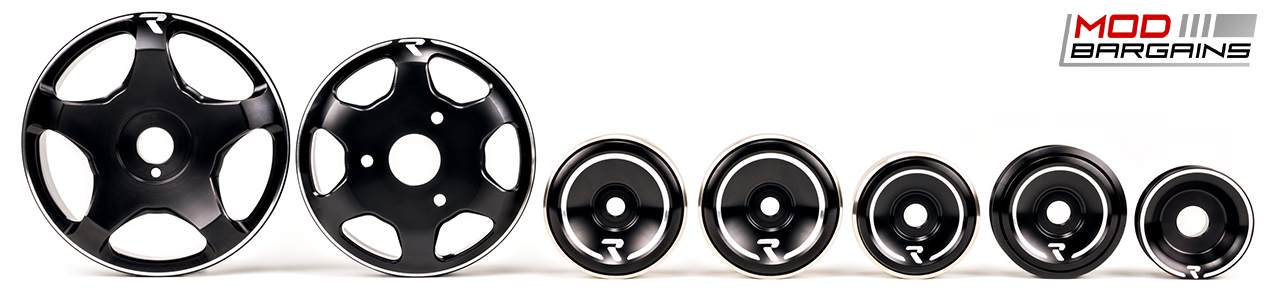 Raceseng Revo Stage 3 Pulley Kit Black for Scion FRS/BRZ
