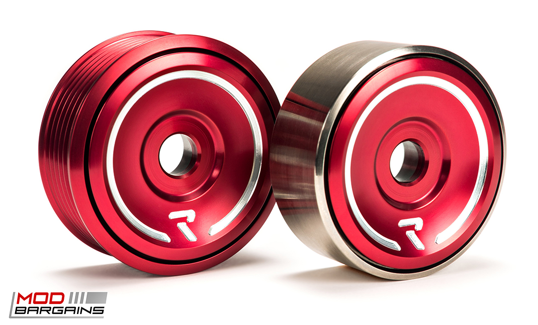 Raceseng Revo Tensioners in Red for 2013+ Scion FRS/Subaru BRZ