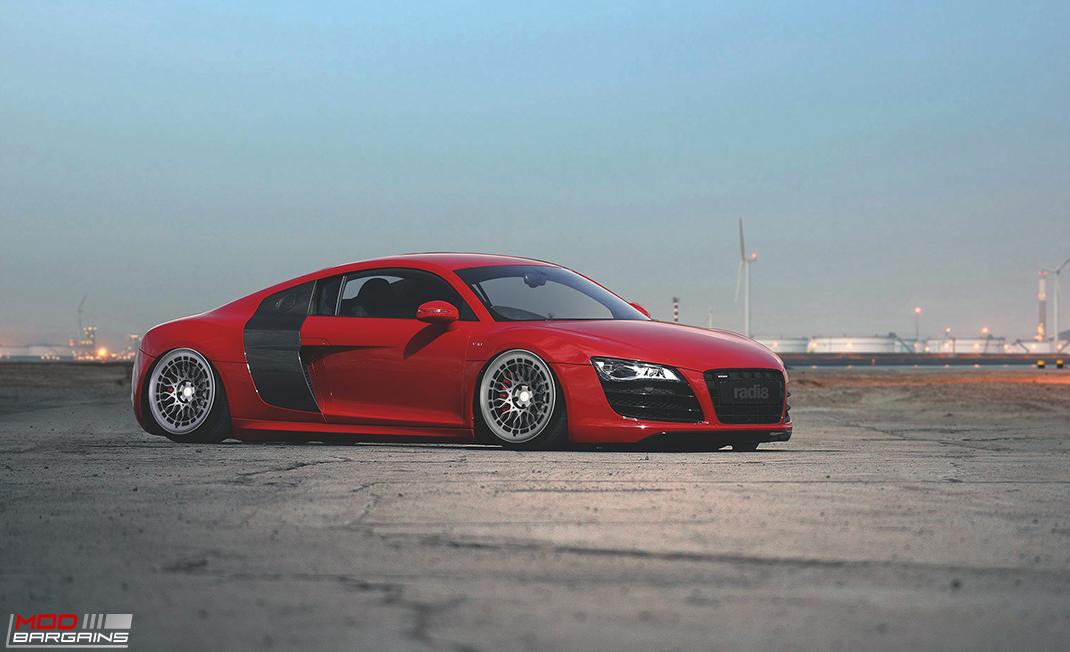 Radi8 R8A10 wheels installed on Audi R8
