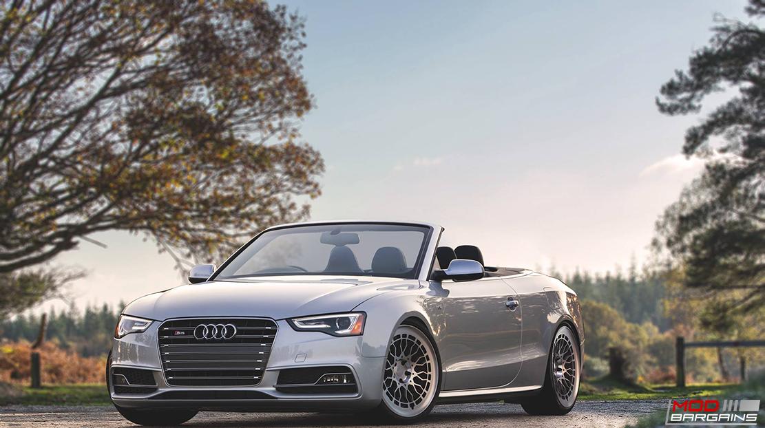 Radi8 R8A10 wheels installed on Audi