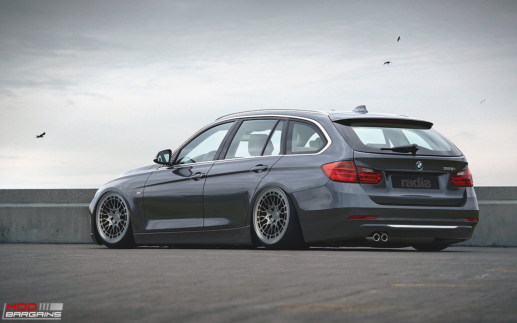 Radi8 R8A10 Wheels Installed on BMW 3-Series Touring
