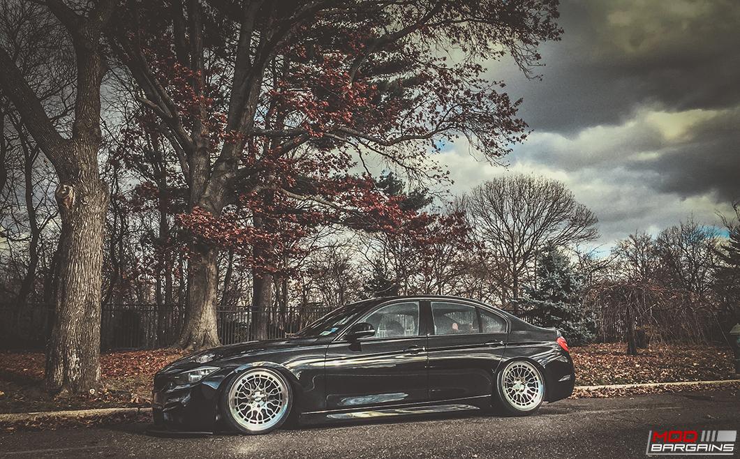 Radi8 R8A10 Wheels Installed on BMW F30