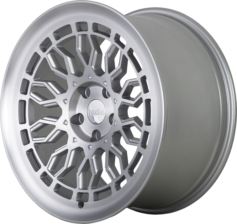 Radi8 R8A10 wheels in Matte Silver for Chevy