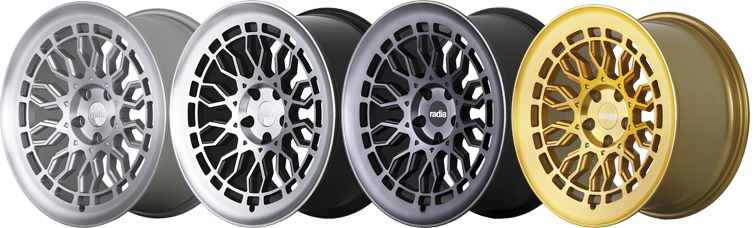 Radi8 R8A10 Wheels Finish