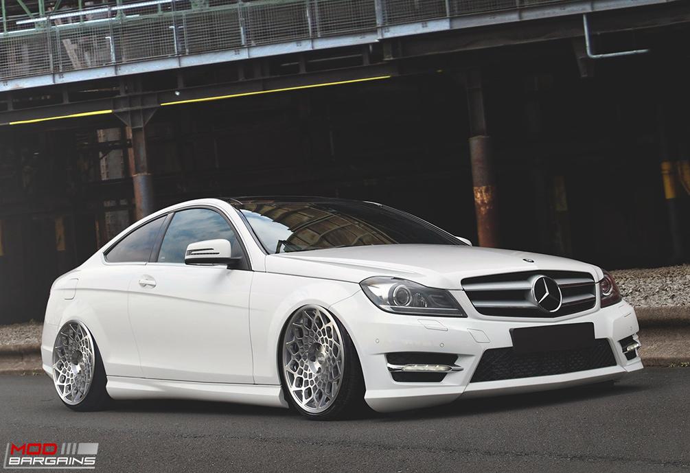 Radi8 R8B12 Wheels on Mercedes Benz