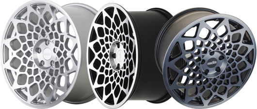 Radi8 R8B12 Wheels Finish