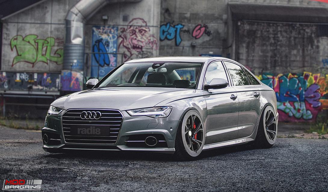 Radi8 R8C5 wheels Installed on Audi (2)