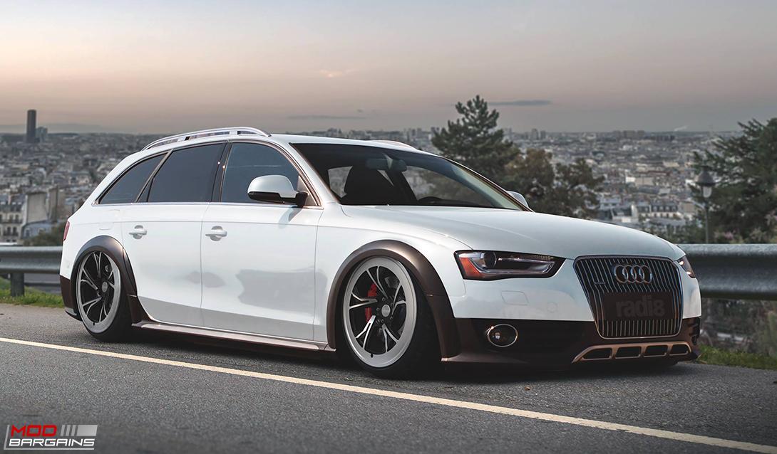 Radi8 R8C5 wheels Installed on Audi (3)