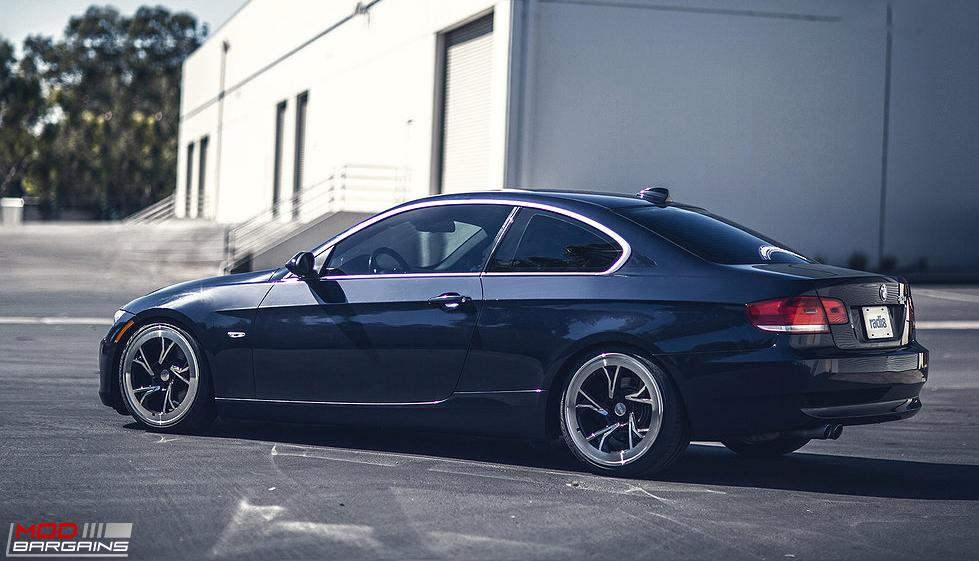 Radi8 R8C5 wheels Installed on BMW E92