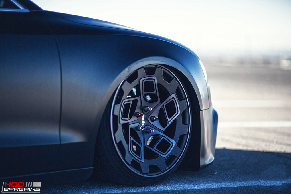 Radi8 R8CM9 Wheels Installed on Audi