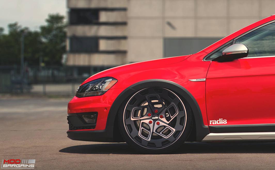 Radi8 R8CM9 Wheels Installed on Volkswagen