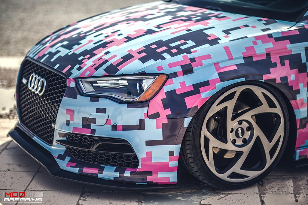 Radi8 R8S5 Wheels Installed on Audi (2)