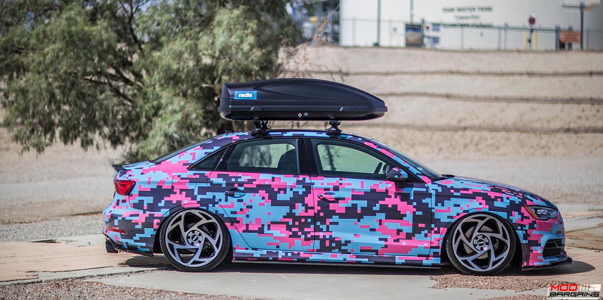 Radi8 R8S5 Wheels Installed on Audi