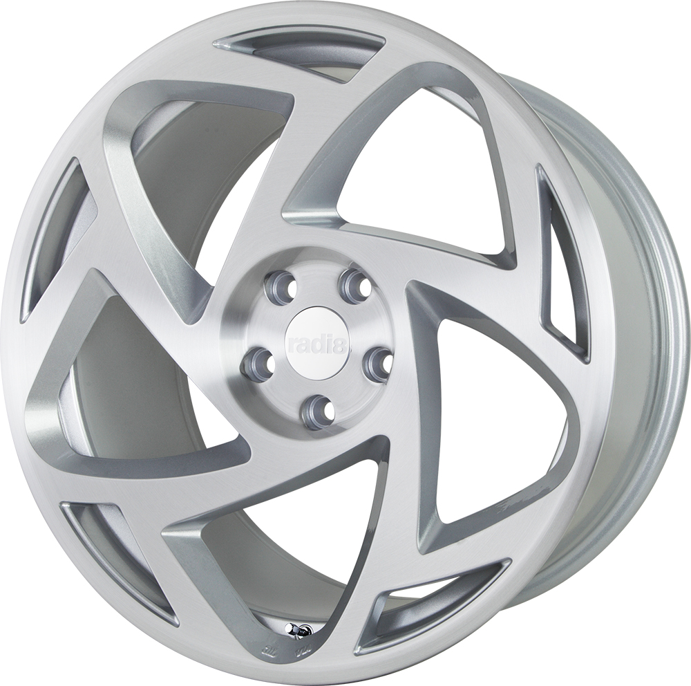 Radi8 R8S5 wheels in Matte Silver for Volkswagen