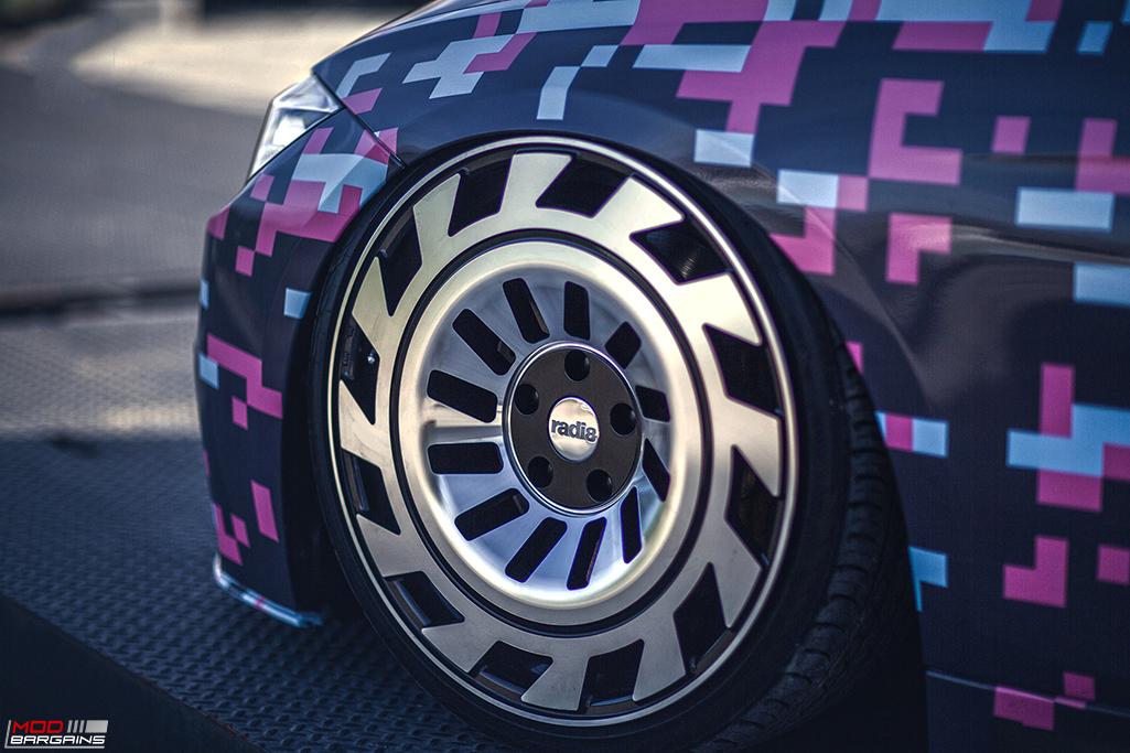 Radi8 R8T12 Wheels Installed on BMW (4)