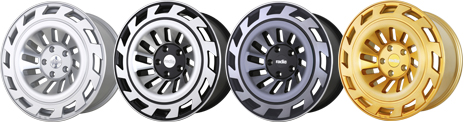 Radi8 R8T12 Wheels Finish
