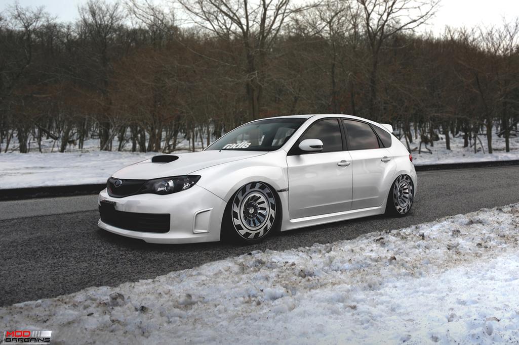 Radi8 R8T12 Wheels Installed on Subaru