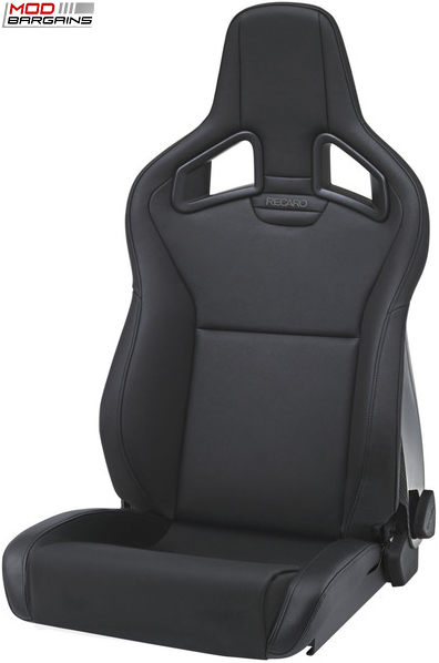 Recaro Sportster CS in Black Vinyl