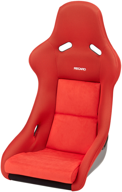 Recaro Pole position N.G. in Red Jersey/Red Suede