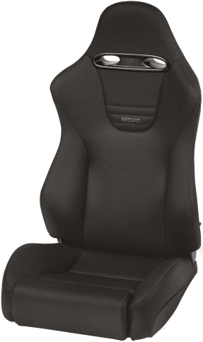 Recaro Sport in Black Nardo