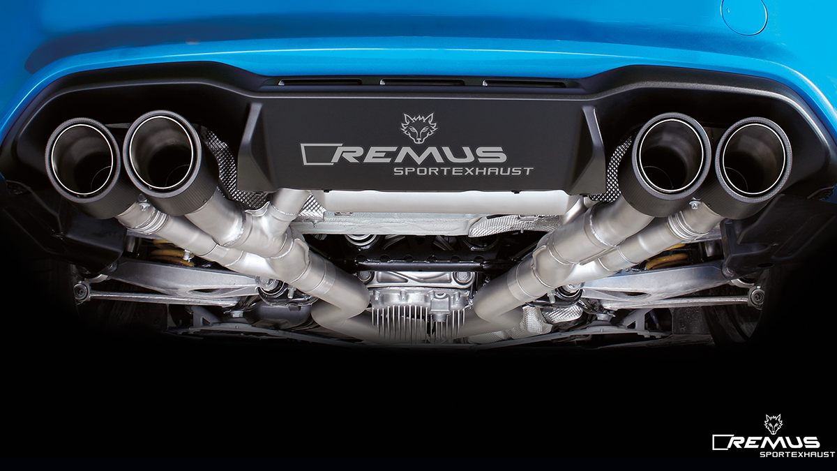 Remus Sport Exhaust For 2016 Bmw M2 F87 088016 1500