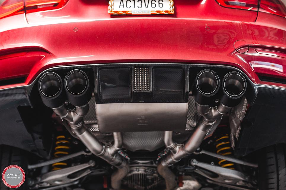 Remus Sport Exhaust System Installed on BMW F30 (2)