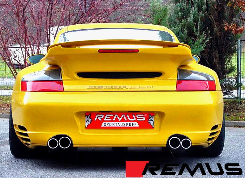 Remus Sport Exhaust for Porsche 911 Turbo / GT2 Installed (3)