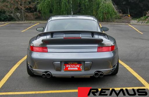 Remus Sport Exhaust for Porsche 911 Turbo / GT2 Installed