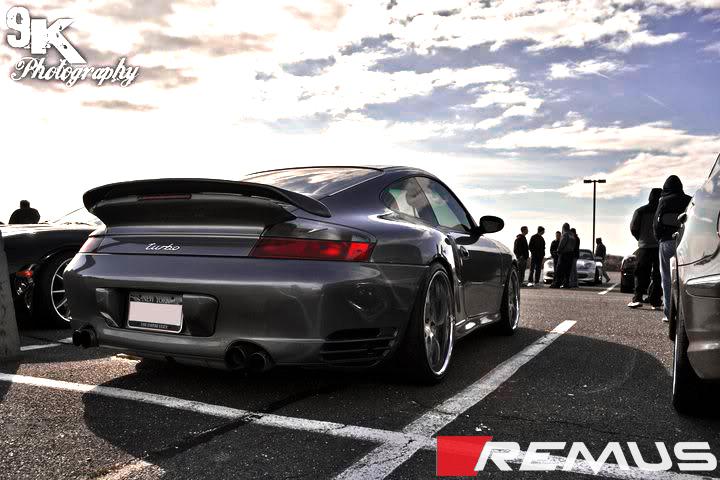 Remus Sport Exhaust for Porsche 911 Turbo / GT2 Installed (2)