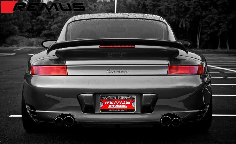 Remus Sport Exhaust for Porsche 911 Turbo / GT2 Installed (4)