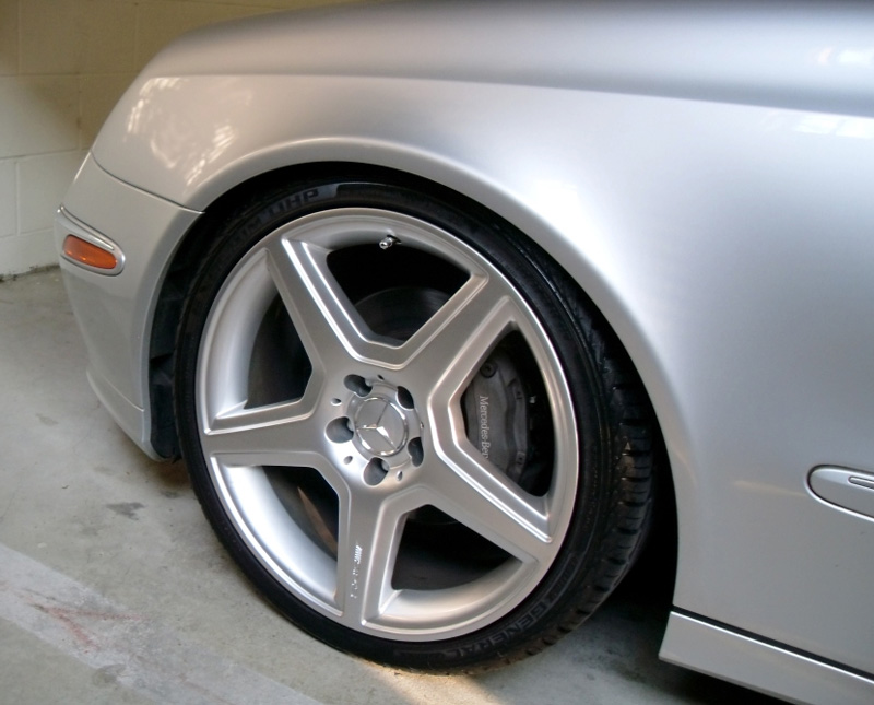 Mercedes-Benz E Class Style Wheels Front Driver View