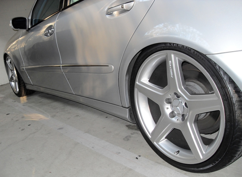 Mercedes-Benz E Class Style Wheels Side View