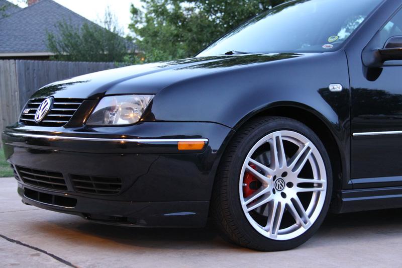 Audi RS4 Style Wheels Hyper Silver VW Jetta Front