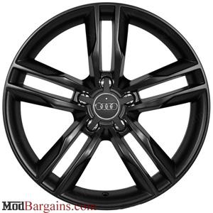 Audi S5 Style Wheel Matte Black