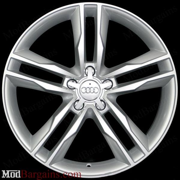 Audi S5 Style Wheel Silver