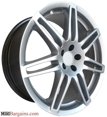 Audi RS4 Style Wheels Hyper Silver